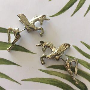 Jewelry - Unicorn 3D earrings